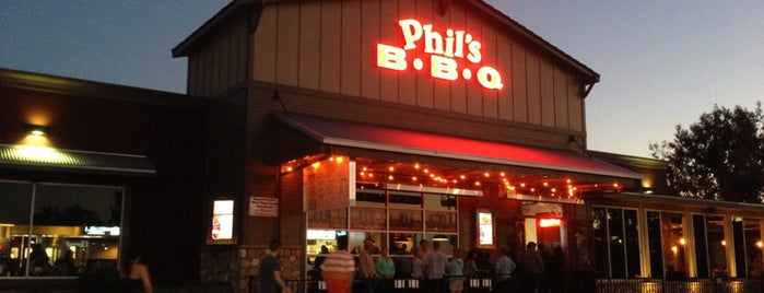 Phil's BBQ is one of FAVORITES.