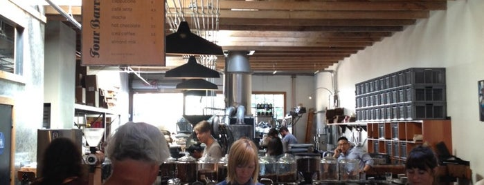 Four Barrel Coffee is one of Best coffee shops for meetings and laptop work.