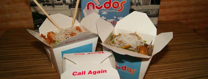 Nudos Oriental Pop is one of ñom ñom.