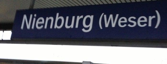 Bahnhof Nienburg (Weser) is one of DB ICE-Bahnhöfe.