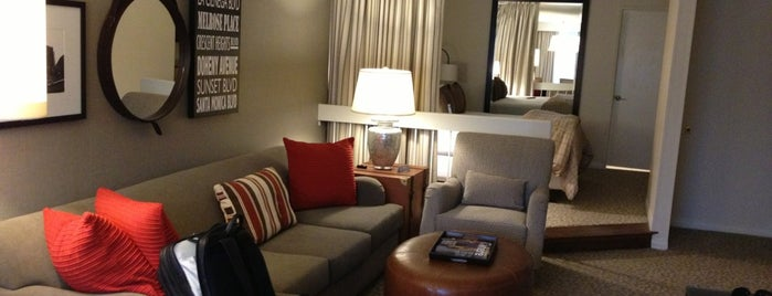 Le Parc Suite Hotel is one of favorites.