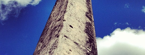 The Obelisk (Cleopatra's Needle) is one of NYC Monuments & Parks.