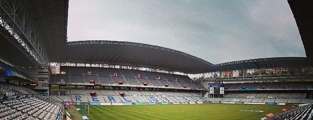 Estadio Nuevo Carlos Tartiere is one of Campos de fútbol.