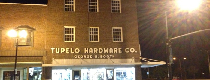 Tupelo Hardware Co is one of Elvis Sites.