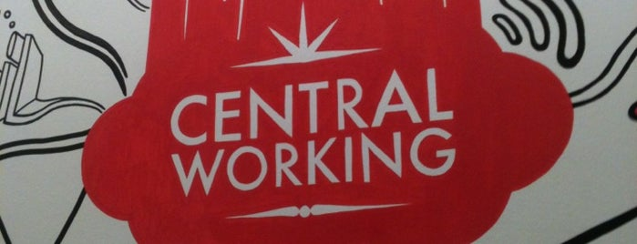 Central Working Shoreditch is one of Best Coffices in London.