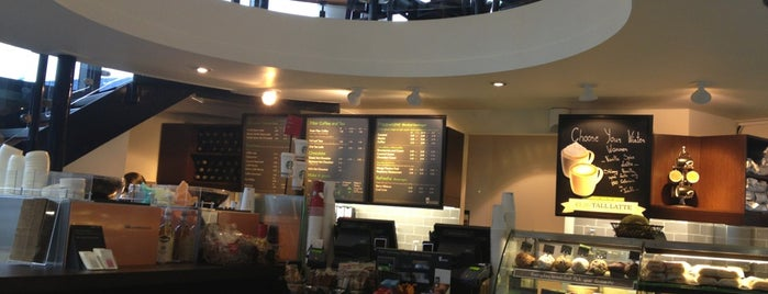 Starbucks is one of Cafés with Wifi and Plugs.