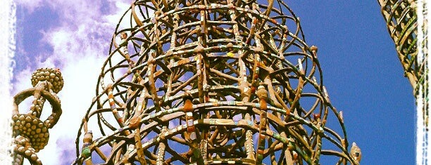 Watts Towers of Simon Rodia State Historic Park is one of SoCal Shops, Art, Attractions.