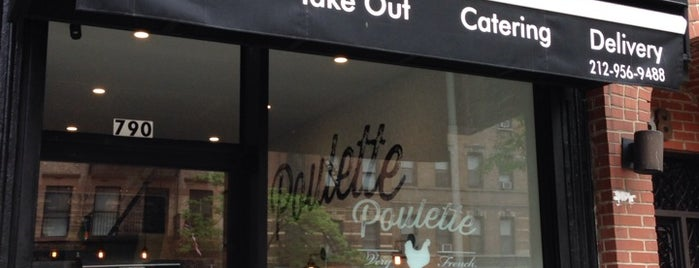 Poulette is one of The Block is Hot #midtown.
