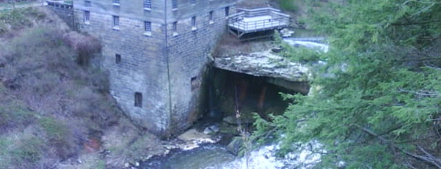 Lanterman's Mill is one of Mill Creek Park ~ Youngstown OH.