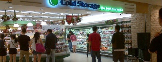Cold Storage is one of Every Place I Went~.