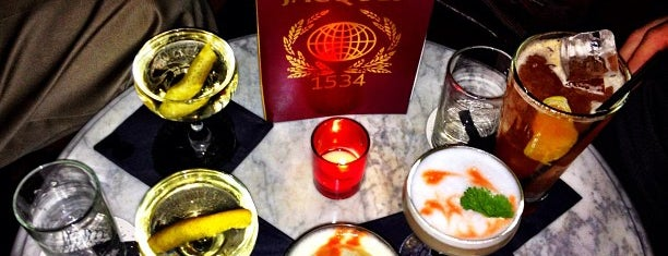 Jacques1534 is one of My Definitive NYC Bar List.