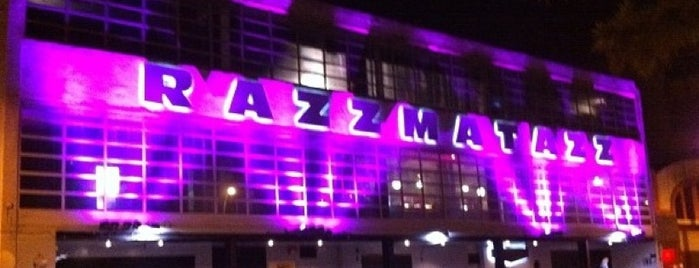 Razzmatazz is one of BCN 2012.