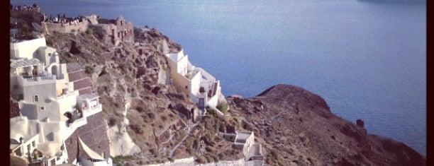 Kasteli of Oia is one of Santorini.