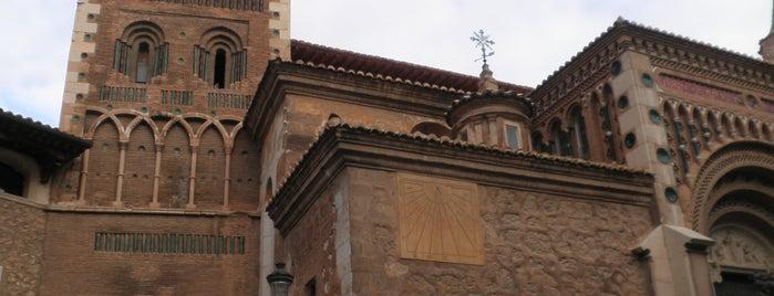 Catedral de Santa María de Teruel is one of HOSTAL TORRE MONTESANTO.