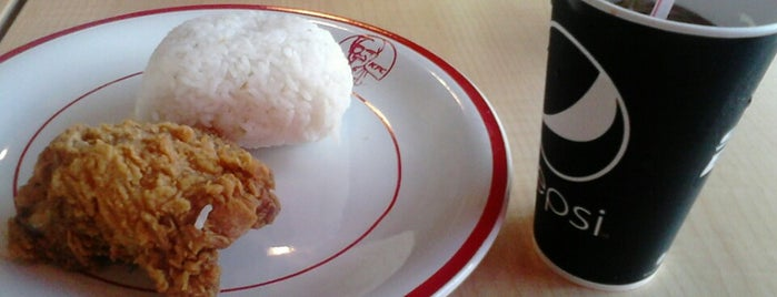 KFC is one of Sukabumi, where the foods are the best :9.