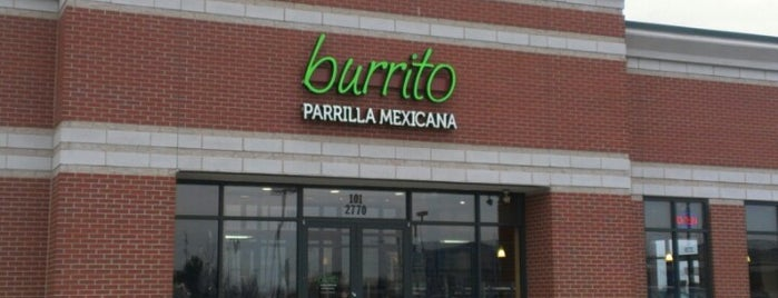 Burrito Parrilla Mexicana is one of Must-visit Food in Lombard.