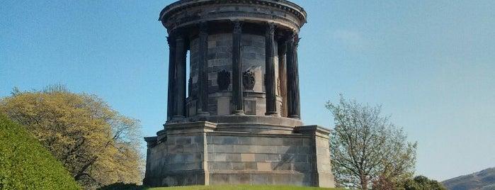 Burns Monument is one of Edinburgh.