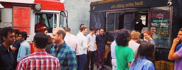 DUMBO Food Truck Lot is one of The 15 Best Food Trucks in Brooklyn.