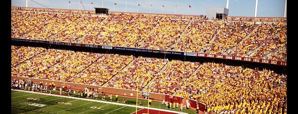 TCF Bank Stadium is one of Sports Venues I've Worked At.