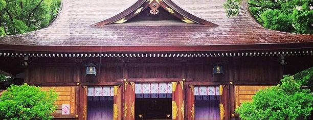 若宮八幡社 is one of 神社.