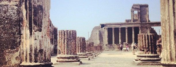 Area Archeologica di Pompei is one of Naples, Capri & Amalfi Coast.