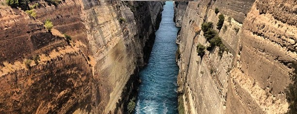 Canal de Corinto is one of Explore Loutraki.