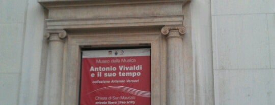 Museo della Musica is one of Italy 2014.