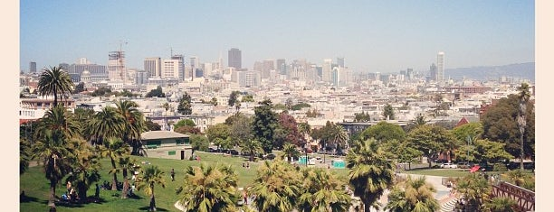 Mission Dolores Park is one of California Dreaming.