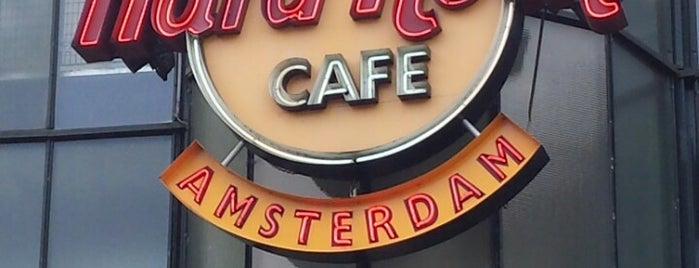 Hard Rock Cafe Amsterdam is one of Amsterdã, Holanda.