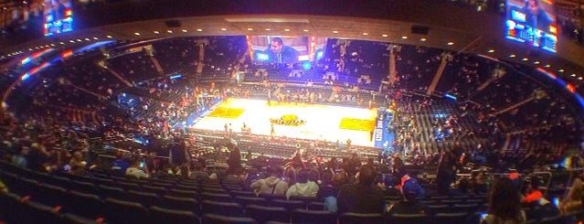 Madison Square Garden is one of Winter Break To Do!.