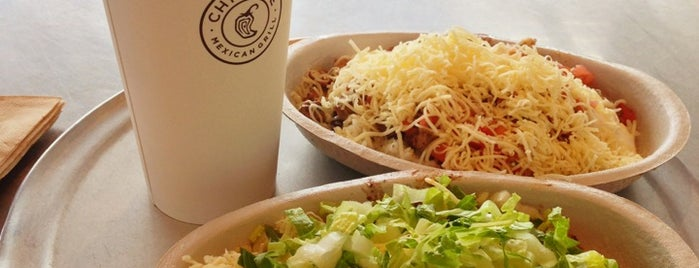 Chipotle Mexican Grill is one of San Diego's Best Burrito Places - 2013.