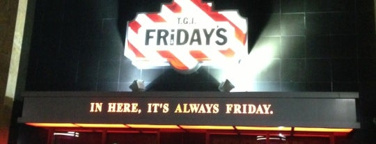 TGI Fridays is one of favorites.