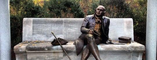 George Mason Memorial is one of Washington, DC.