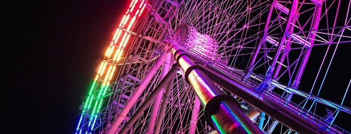 The Coca-Cola Orlando Eye is one of The 15 Best Places for Sunsets in Orlando.