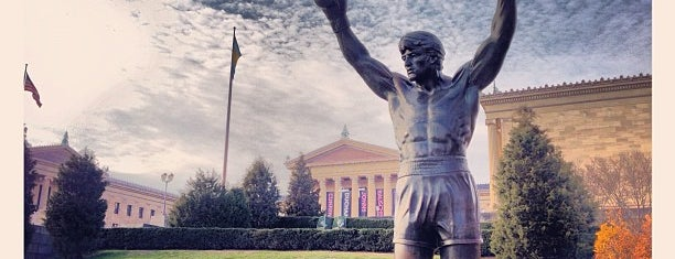 Rocky Statue is one of Parks & Recreation.