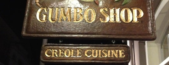 Gumbo Shop is one of Increase your New Orleans City iQ.