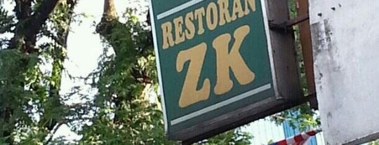 Restoran ZK is one of Makan @ KL #1.