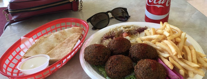 Mister Falafel is one of SD: Food & Drinks.