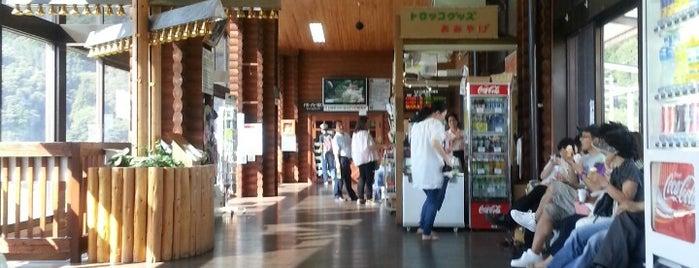 Torokko-Kameoka Station is one of 旅.