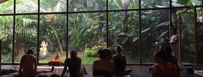 The Yoga Barn is one of Bali nice places.
