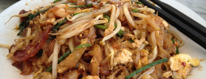 Siam Road Charcoal Char Koay Teow is one of Penang Foods.