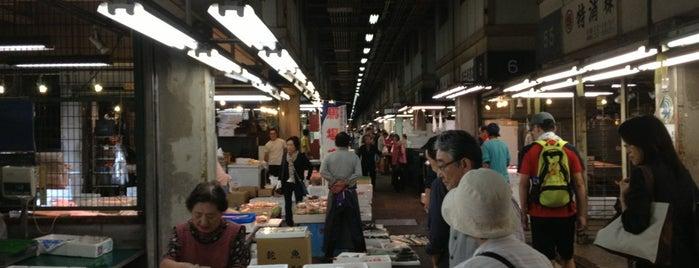 京都市中央卸売市場 第一市場 is one of Mall in Kyoto.