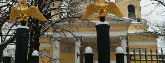Спасо-Преображенский Собор is one of Православный Петербург/Orthodox Church in St. Pete.