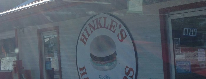 Hinkle's Hamburgers is one of Bloomington To-Do.