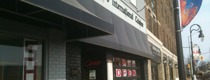 Vaughan's International Cuisine is one of Niagara.