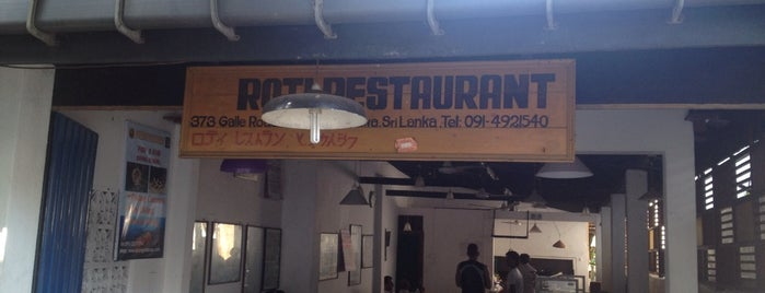 The No. 1 Roti Kade is one of Food Joints.