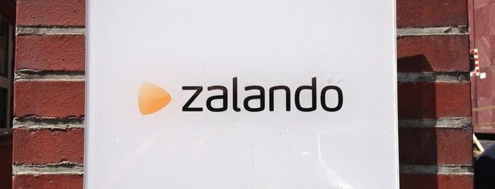 Zalando Headquarters is one of Internet Companies Berlin.