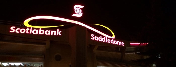 Scotiabank Saddledome is one of Sporting Venues To Visit.....