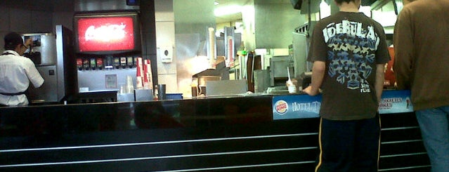 Burger King is one of Chatarra... yesss.