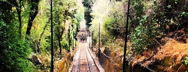 Funicular del Cerro San Cristóbal is one of Santiago.